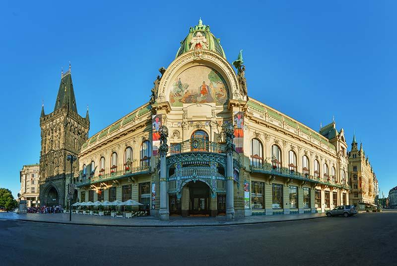 جاذبه های پراگ - ساختمان شهرداری