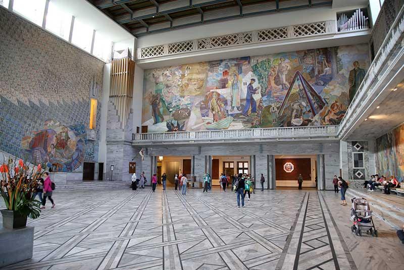 ساختمان شهردازی اسلو