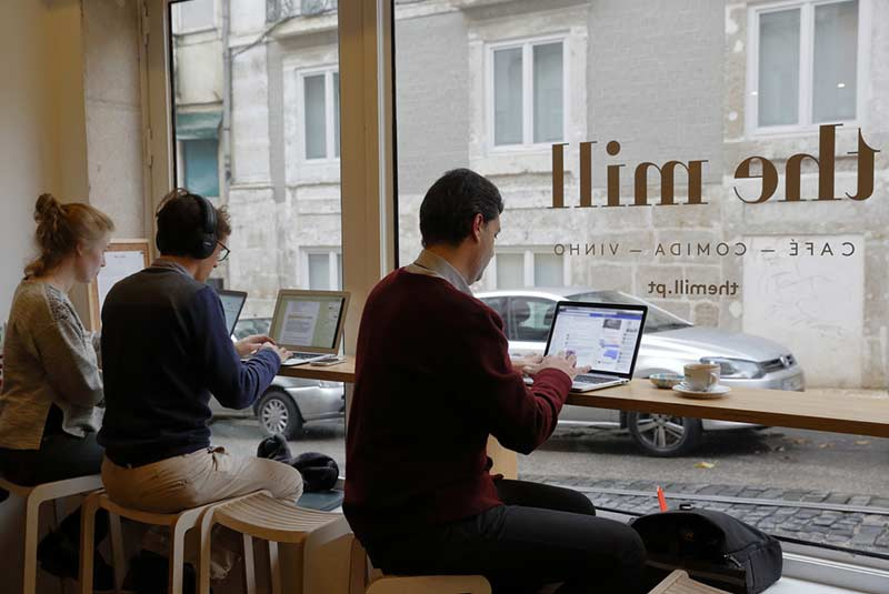 کافه های لیسبون