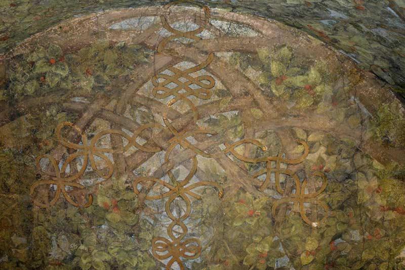 نقاشی سقف اسفوزسکو - داوینچی