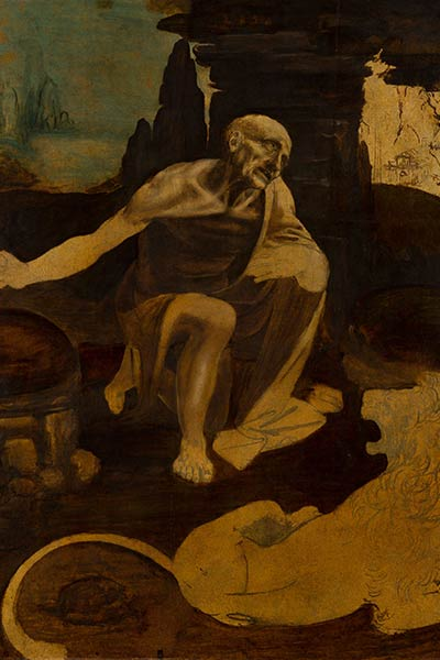 سنت جروم - لئوناردو داوینچی