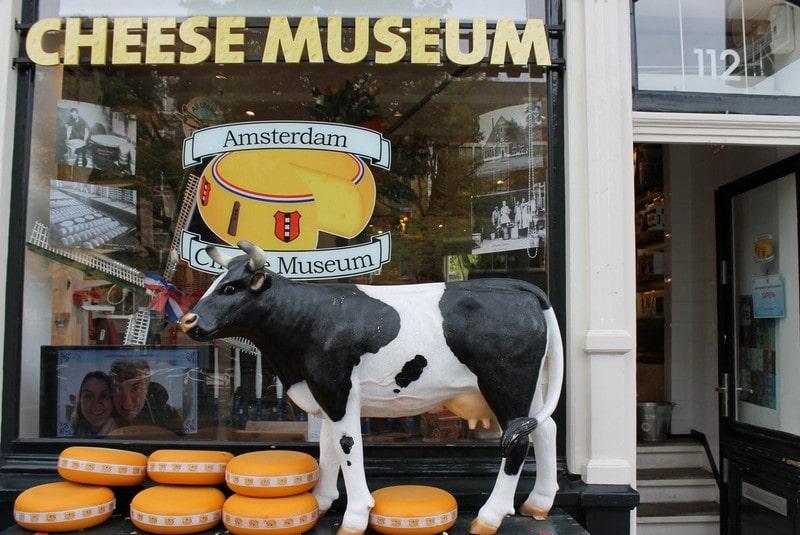 موزه پنیر در آمستردام