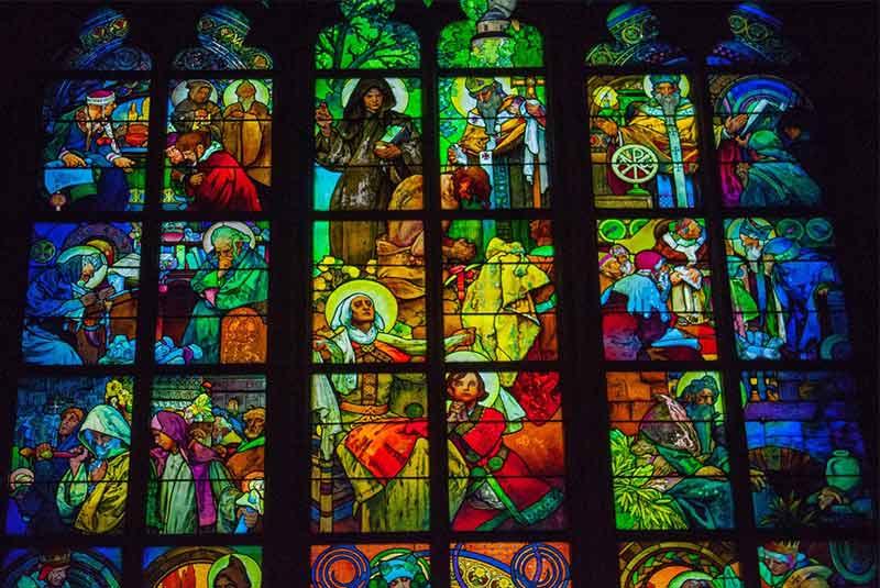 جاذبه های پراگ - سنت ویتوس