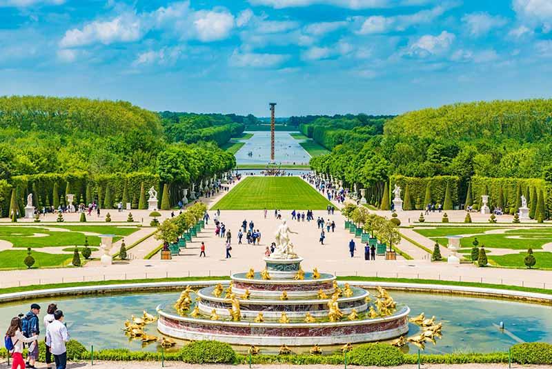 نتیجه تصویری برای کاخ ورسای در دوره لویی چهارم