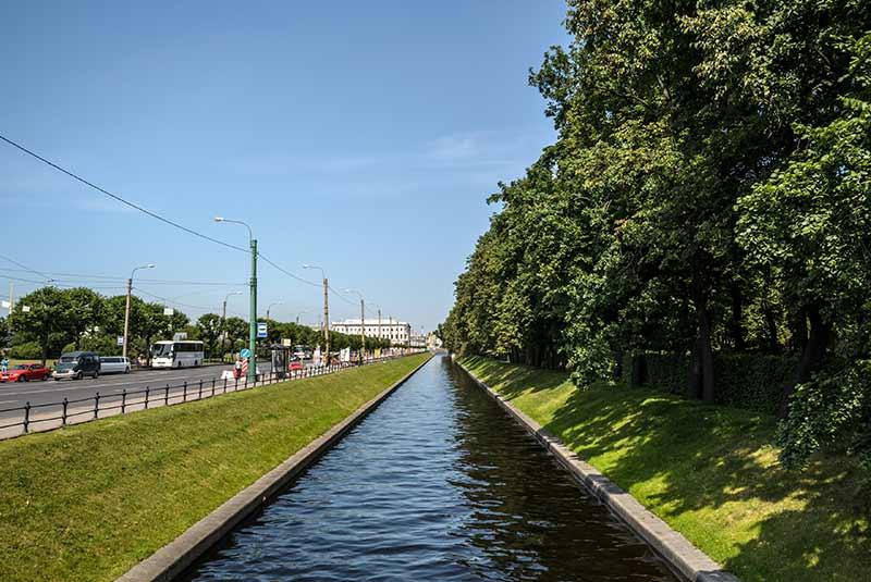 رودها و کانال های سن پترزبورگ