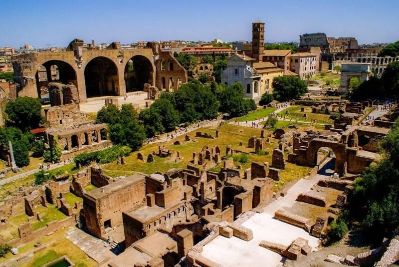 جاذبه های گردشگری رم