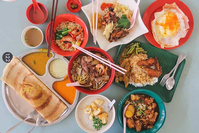 صبحانه سنگاپور