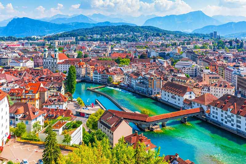 جاهای دیدنی سوئیس در رشته کوه های آلپ - ایوار