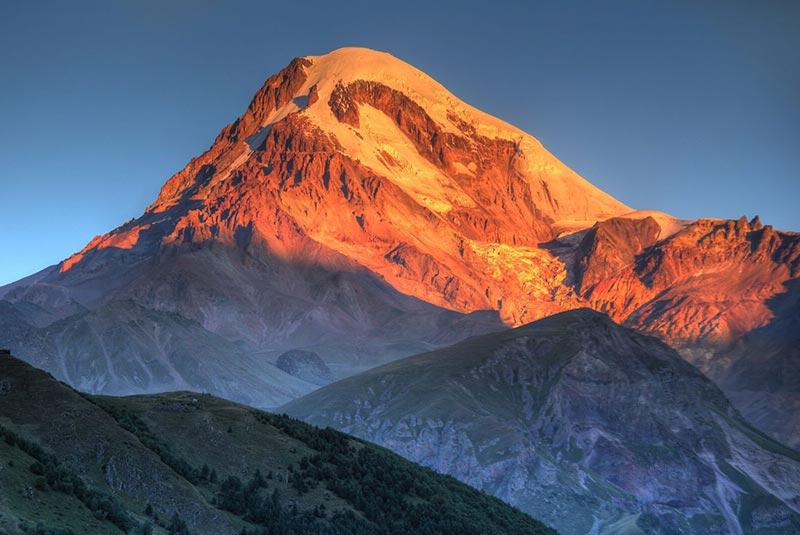 قله قازبگی