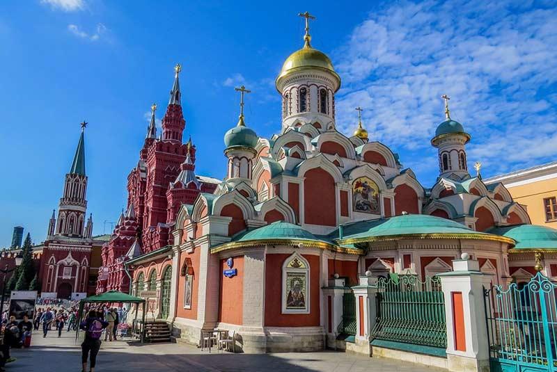 کلیسای کازان مسکو