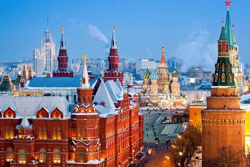جاذبه های روسیه