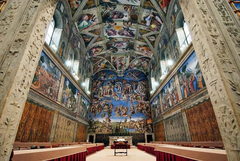 کلیسای سیستین - جاذبه رم