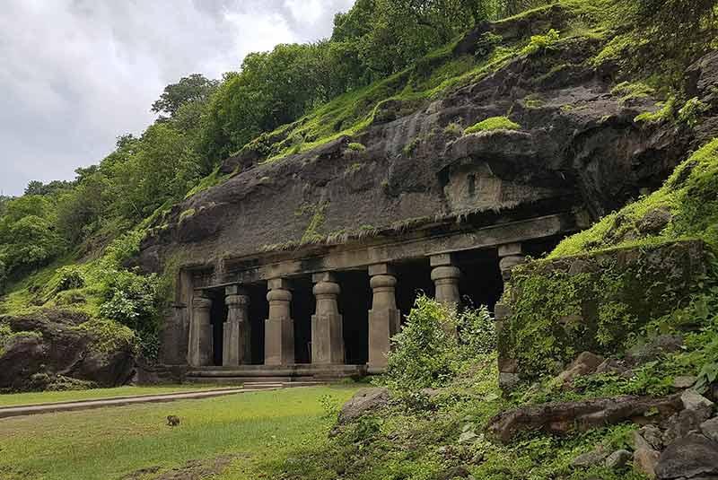 بمبئی - غارهای الفانتا