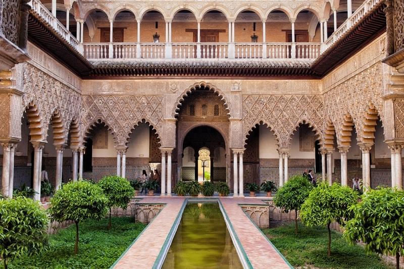 قصر آلکازار اسپانیا