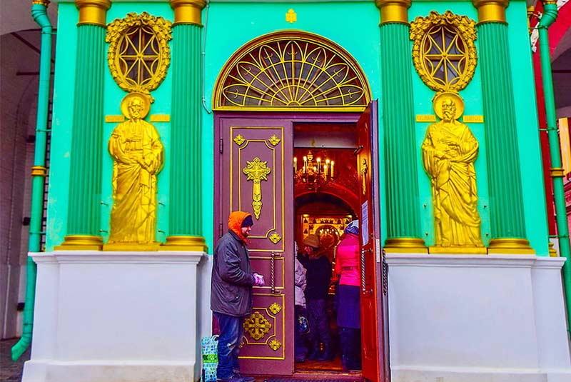 کلیسای ایورسکایا مسکو