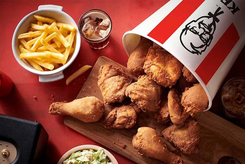 مرغ سوخاری KFC