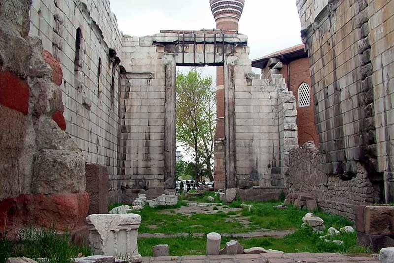 معبد آگوستوس و روم - آنکارا