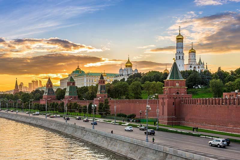 دیوار کرملین مسکو