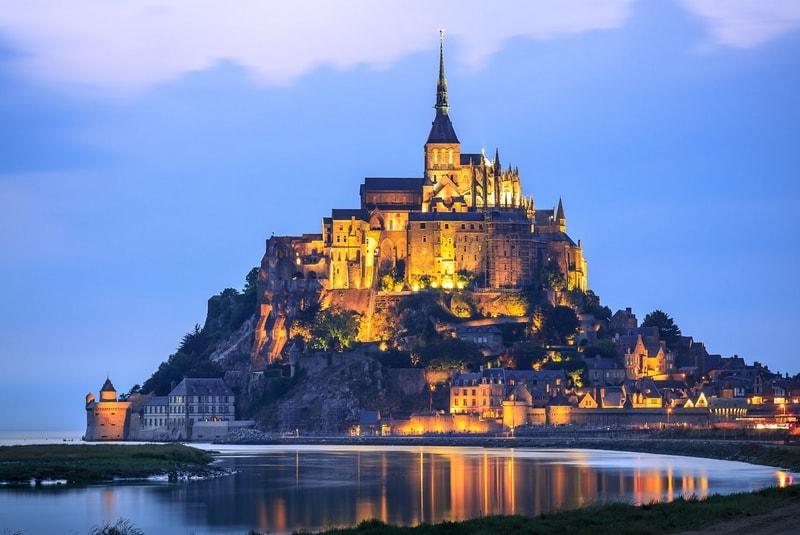 قلعه مونت سنت میشل فرانسه