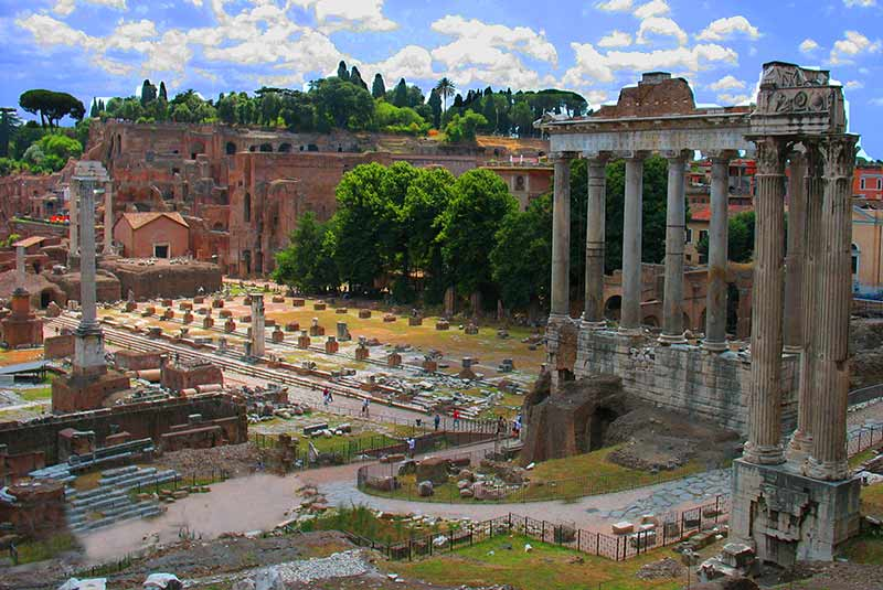 جاذبه های ایتالیا - فروم روم