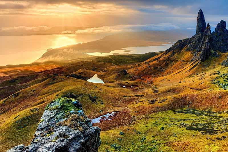 طبیعت زیبای اروپا