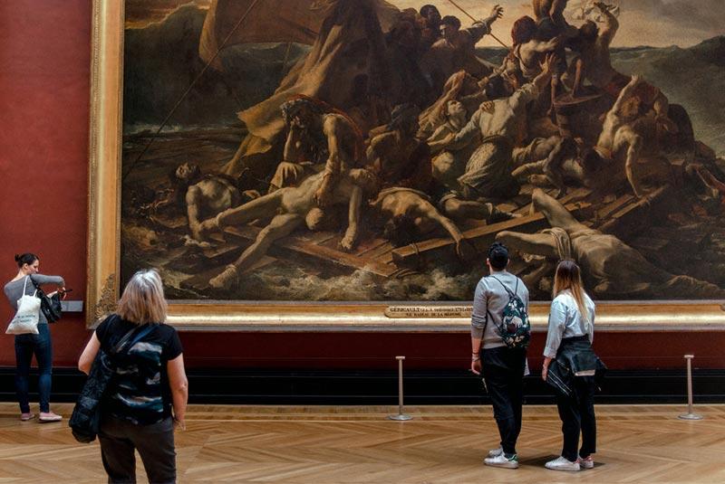 بازدید از موزه لوور پاریس