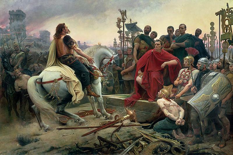 جولیوس سزار پس از شکست گل ها