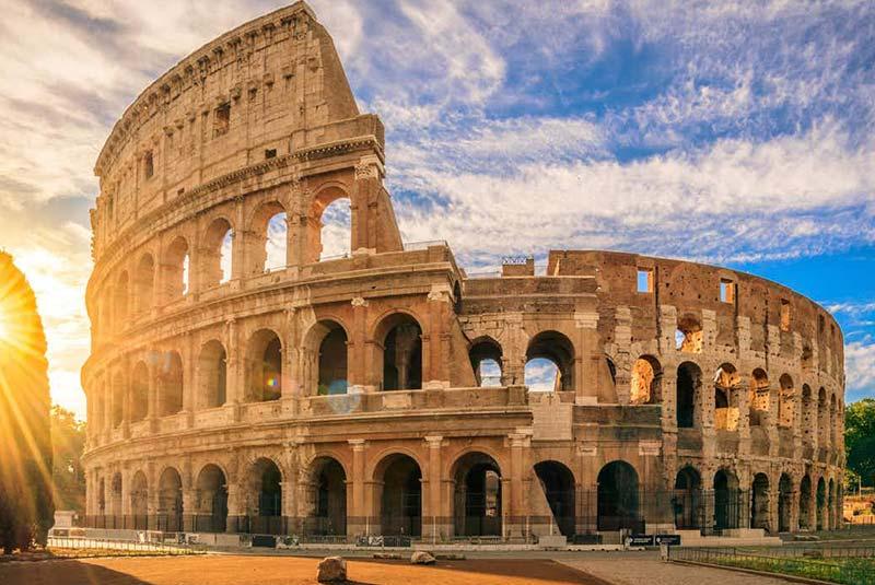 جاذبه های ایتالیا - کولوسئوم