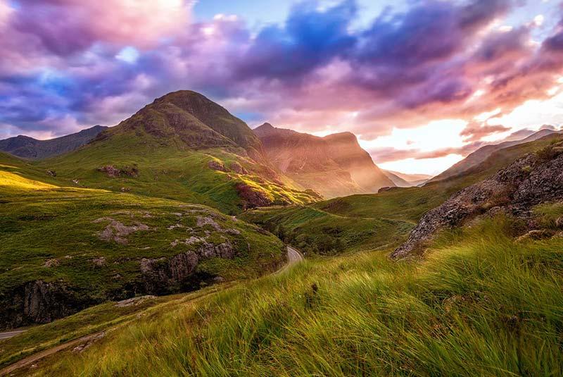 جاذبه های اروپا - ارتفاعات اسکاتلند