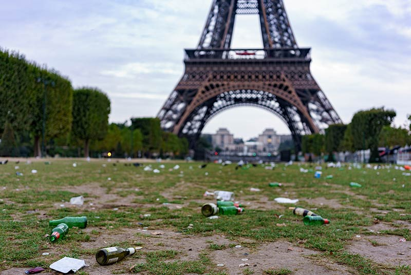 پاریس شهر کثیف