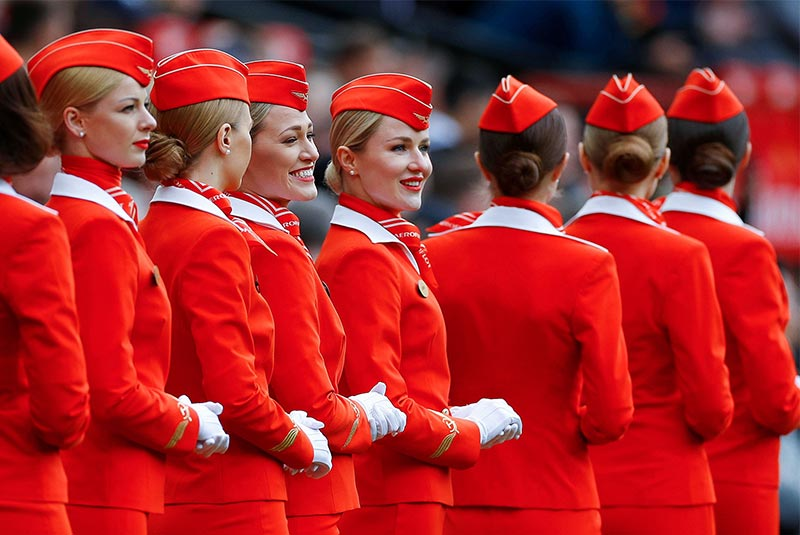 لباس مهمانداران هواپیما