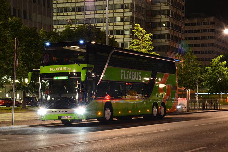 اتوبوس بین شهری اروپا