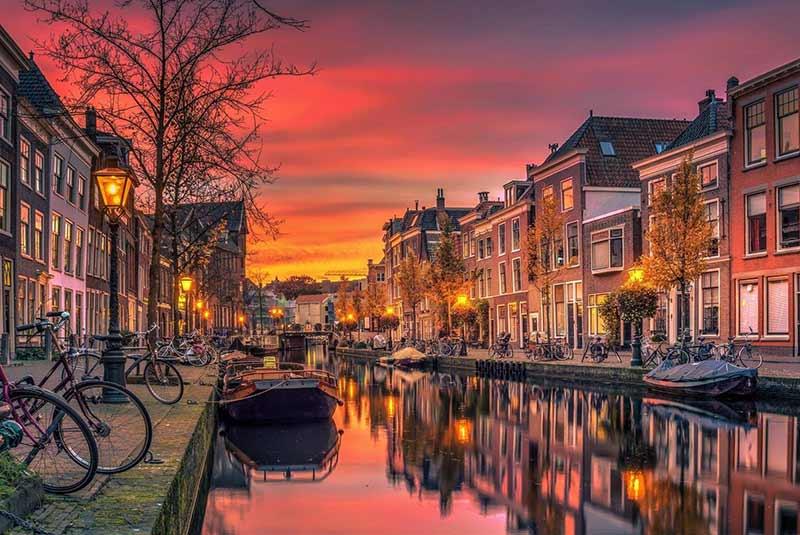 جاذبه های اروپا - کانال های آمستردام