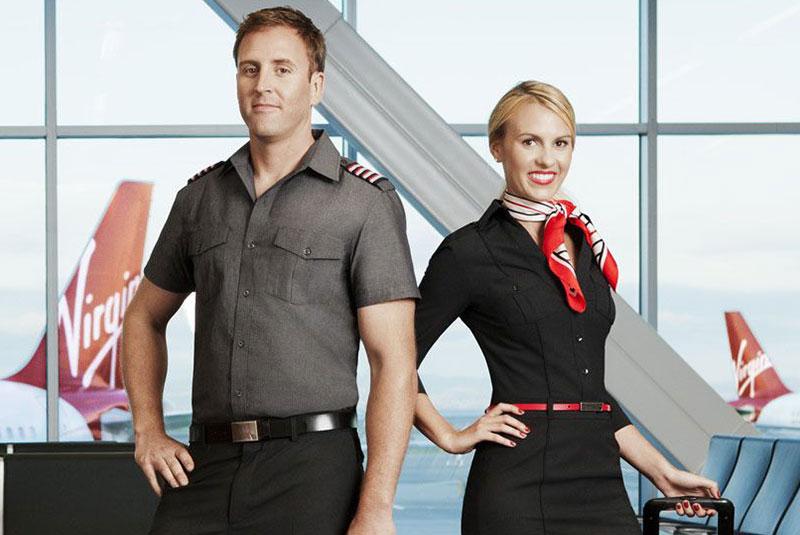 لباس خلبانان ویرجین آمریکا