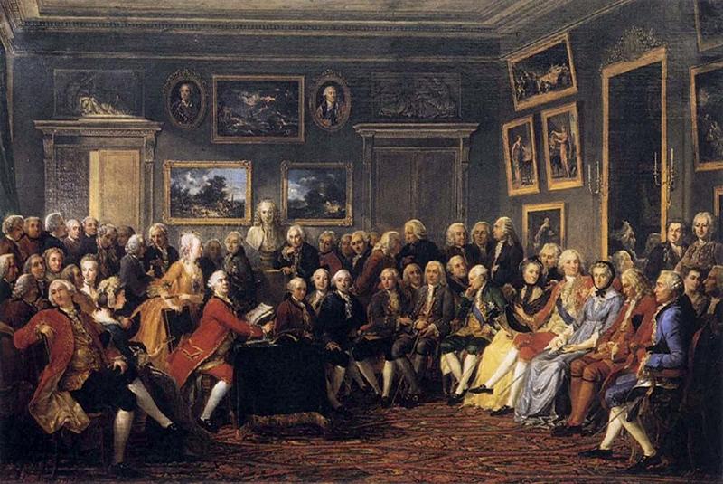 جلسه روشنفکران فرانسه