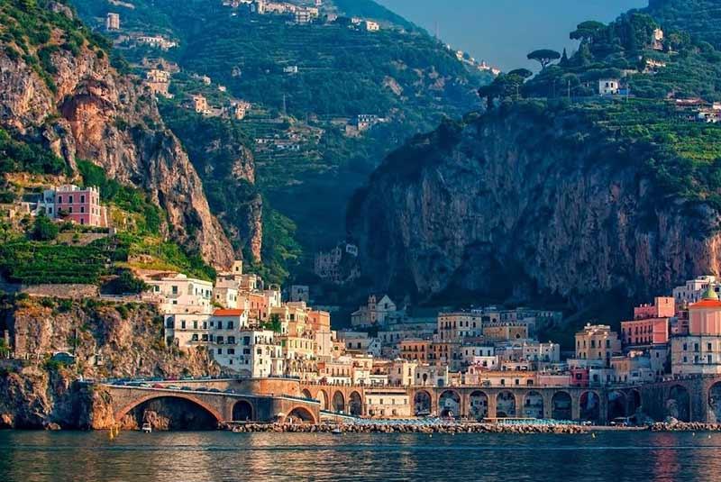 جاهای دیدنی ایتالیا - آمالفی