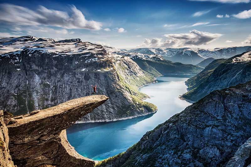 جاذبه های اروپا - نروژ