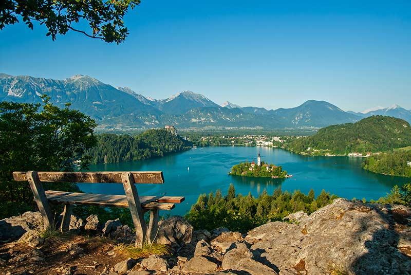 جاذبه های اروپا - دریاچه بلد