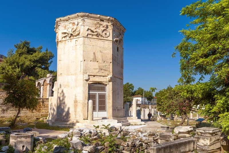 برج ساعت یونان