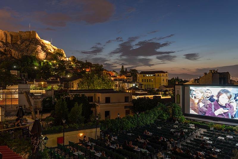 سینمای سرباز در آتن