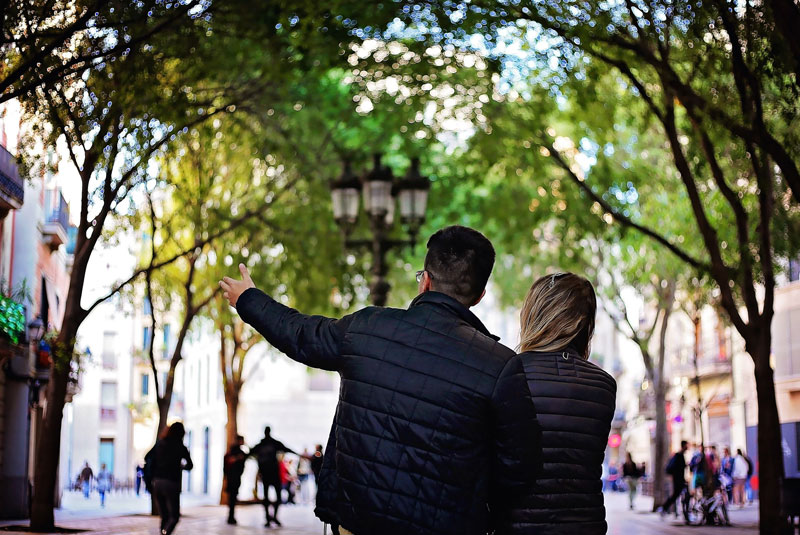 ماه عسل در بارسلونا