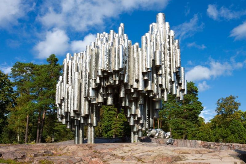 مجسمه سیبلیوس هلسینکی