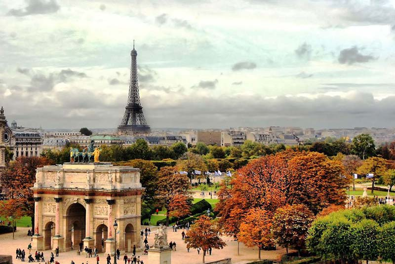 پاریس در سپتامبر