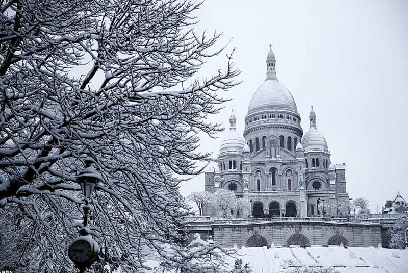 پاریس در ژانویه