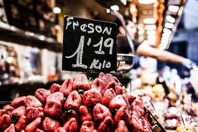 بازارهای مواد غذایی بارسلون