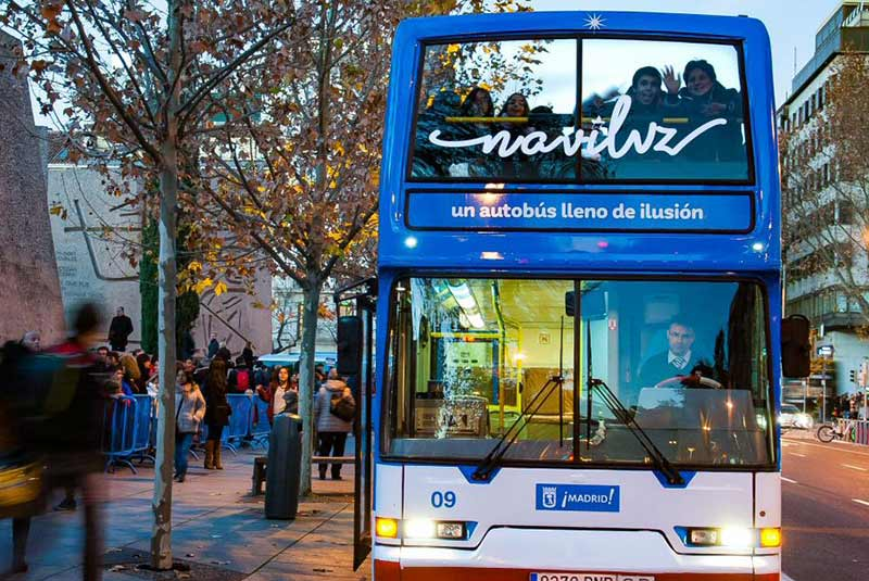 اتوبوس های مادرید