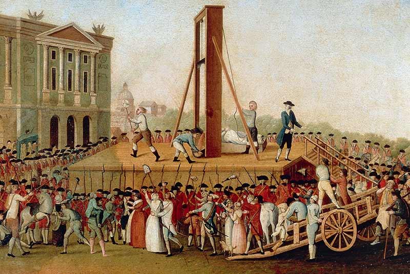 اعدام لویی شانزدهم