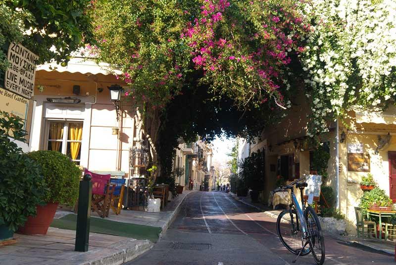 خیابان پلاکا آتن