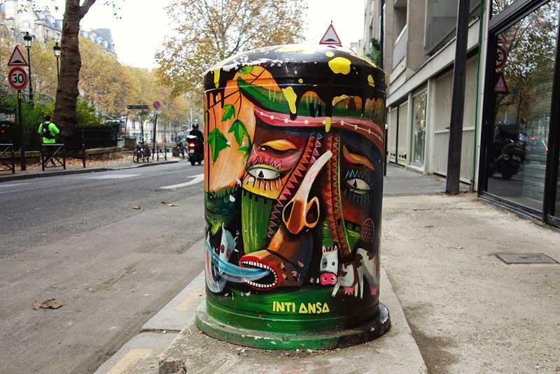 هنر خیابانی پاریس