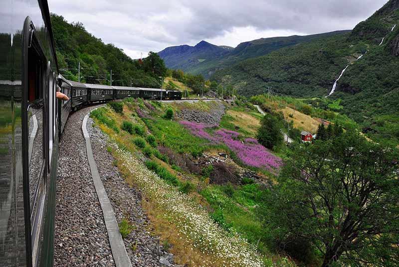 راه آهن نروژ